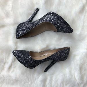 Nine West Love Fury Collection Glitter Pumps